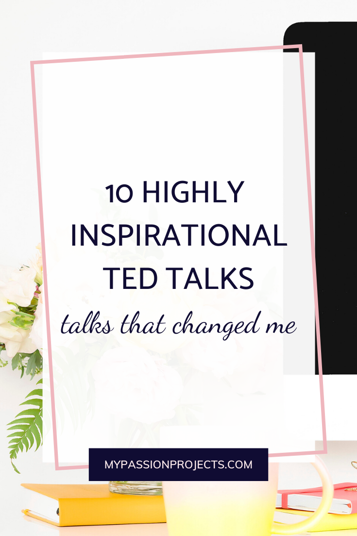 10 Highly Inspirational TED Talks